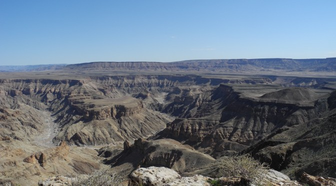 Fish River Canyon (Which Contains No Fish)