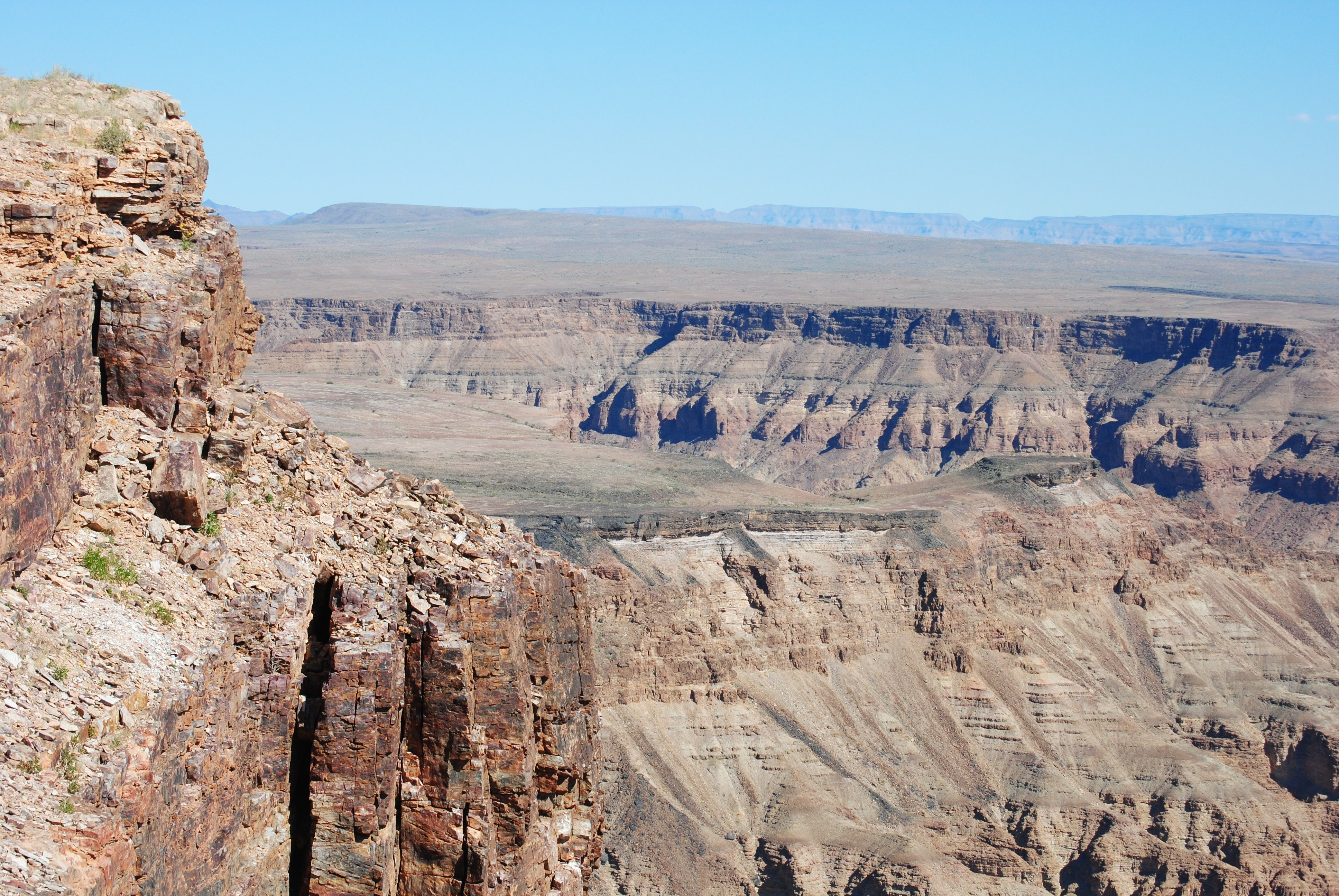 Fish River Canyon Hiking Trail In Namibia | Activity in