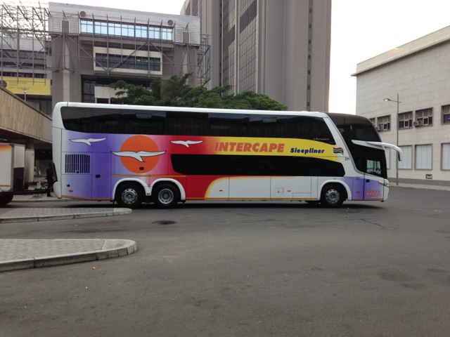 Intercape bus to Windhoek