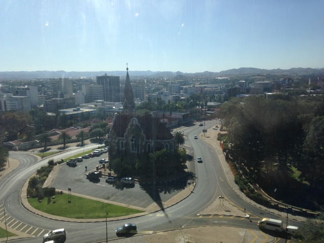 Christuskirche at Castro and Mugabe, Windhoek.