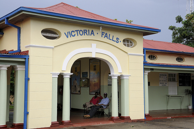 Victoria Falls railway station by Andrew Ashton, on Flickr