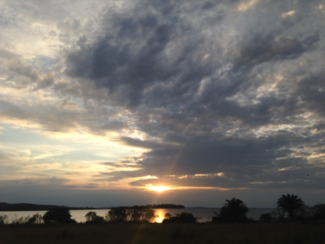 Sunset, Lake Victoria, Ssese Islands, Uganda