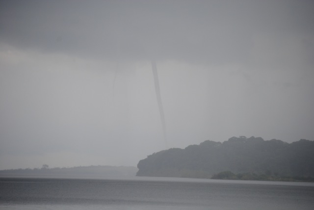 Waterspout, Ssese Islands, Uganda