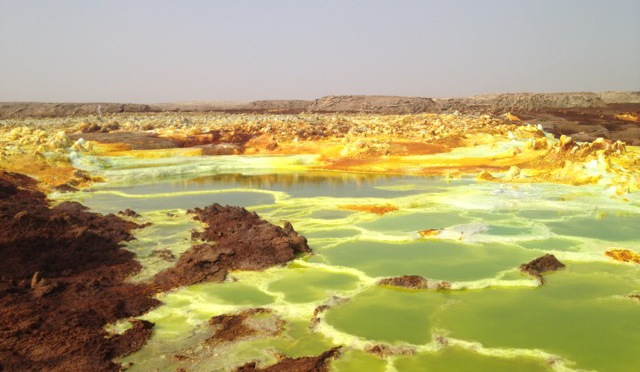 Last Day in the Danakil Depression: Camel Caravans and Sulfur Springs