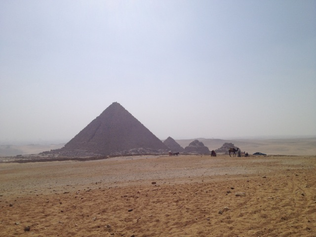 Great Pyramid, Giza, Egypt | www.nonbillablehours.com