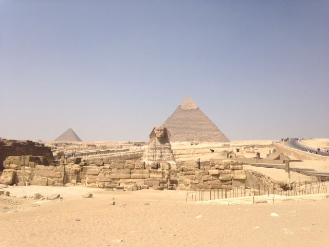 Giza Plateau, Egypt | www.nonbillablehours.com