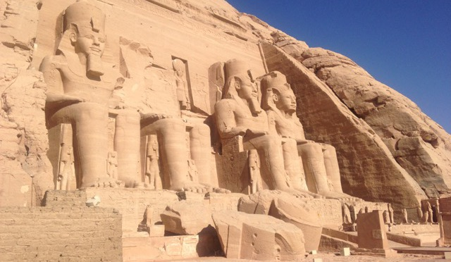 Unabashed Megalomania (Or, The Temples at Abu Simbel)