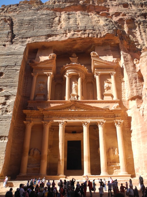 The Treasury, Petra, Jordan | www.nonbillablehours.com