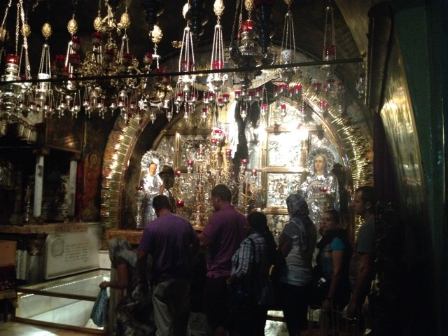 Church of the Holy Sepulchre, Jerusalem, Israel - www.nonbillablehours.com